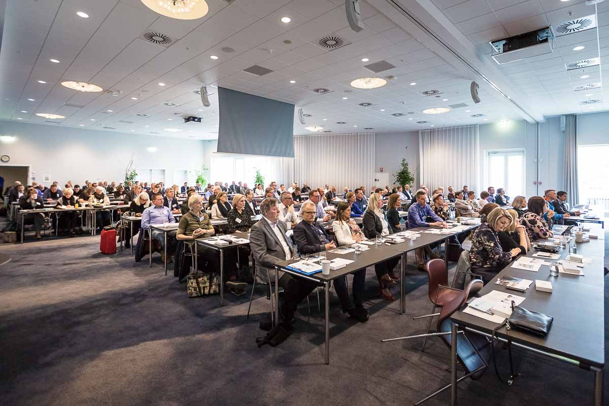 Professionel fotograf til Konferencer i Randers